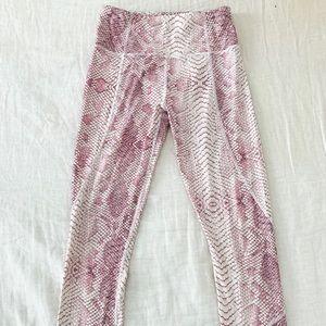 Varley snakeskin leggings